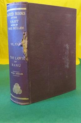 THE LAWS OF MANU; with Extracts from Seven Commentaries