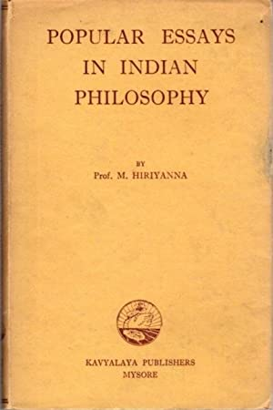 POPULAR ESSAYS IN INDIAN PHILOSOPHY