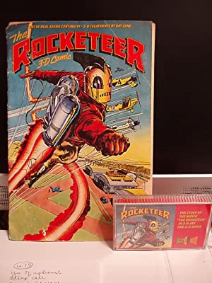 The Rocketeer (3-D Comic Book and Cassette tape): Adams, Neal