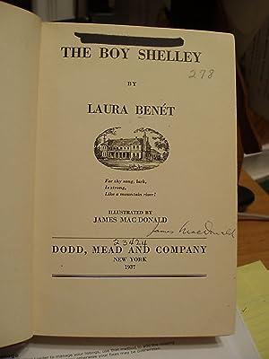 The Boy Shelley: Benet, Laura