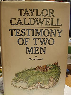 Testimony of Two Men: Caldwell, Taylor