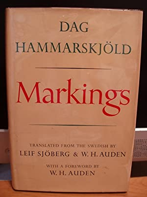 Markings: Hammarskjold, Dag