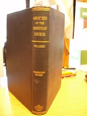 Great Men of the Christian Church: Walker, Williston