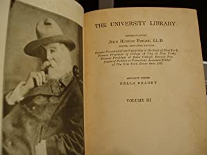 The University Library - Volume 3: Finley, John Huston