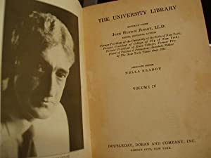The University Library - Volume 4: Finley, John Huston