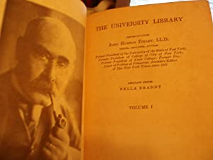 The University Library - Volume 1: Finley, John Huston