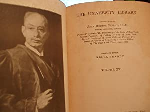 The University Library - Volume 15: Finley, John Huston