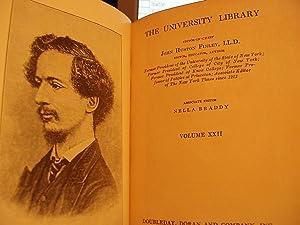 The University Library - Volume 22: Finley, John Huston