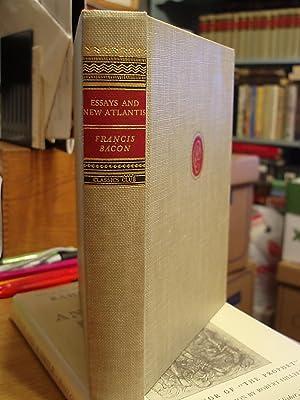 Essays and New Atlantis: Bacon, Francis