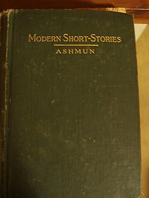 Modern Short Stories: Ashmun, Margaret