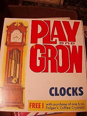 Play and Grow Clocks: Folger's Coffee