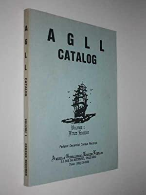 AGLL Catalog Volume I First Edition: Various