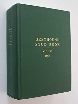The Greyhound Stud Book: Volume 94, 1994: Guccione (Compiler), Gary