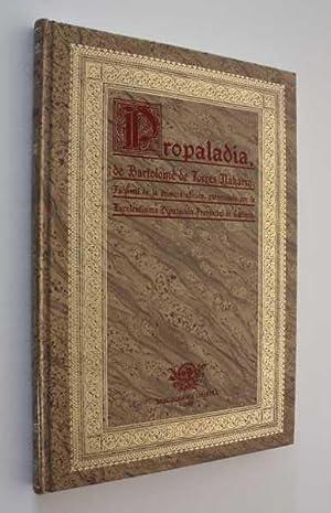 Propaladia de Bartolome de Torres Naharro (Napoles, 1517): Torres Naharro, Bartolome de