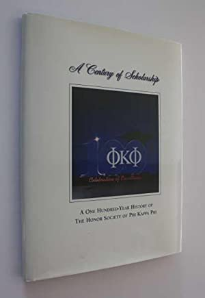 A Century of Scholarship: A One-Hundred-Year History: The Honor Society