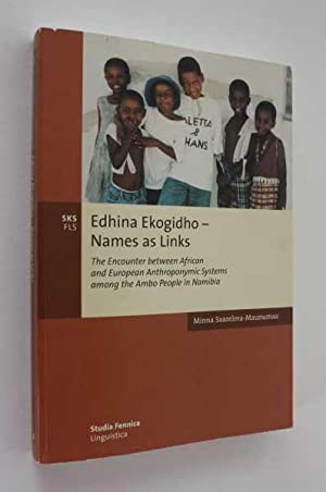 Edhina Ekogidho - Names as Links: The Encounter between African and European Anthroponymic Systems ...