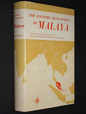 The Economic Development of Malaya: The International Bank for Reconstruction and Development