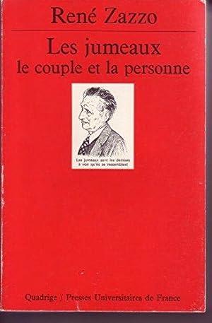 Les Jumeaux.Le Couple Et La Personne.: René Zazzo