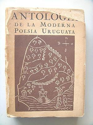 ANTOLOGIA DE LA POESIA MODERNA POESIA URUGUAYA.: Ildefonso Pereda Valdes [Jorge Luis Borges]