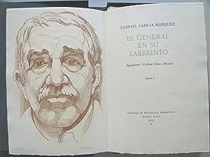 EL GENERAL EN SU LABERINTO.: Gabriel García Márquez