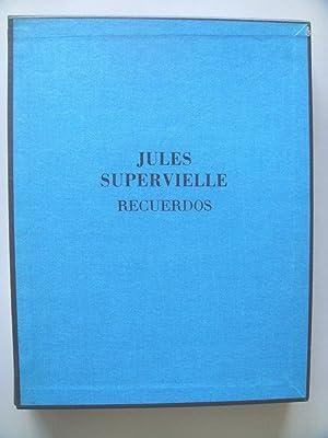 RECUERDOS. 2 tomos.: Jules Supervielle: