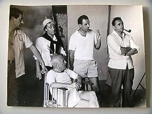 Le mystere Picasso [Fotografía del film]: Pablo Picasso