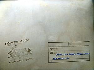 Jorge Luis Borges Fotografía original de la agencia SIGLA: Jorge Luis Borges Fotograf�a ...