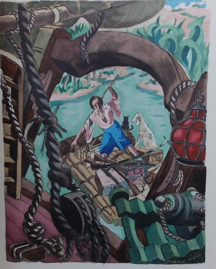 Vie et surprenantes Aventures de Robinson Crusoé.: DE FOE (Daniel)