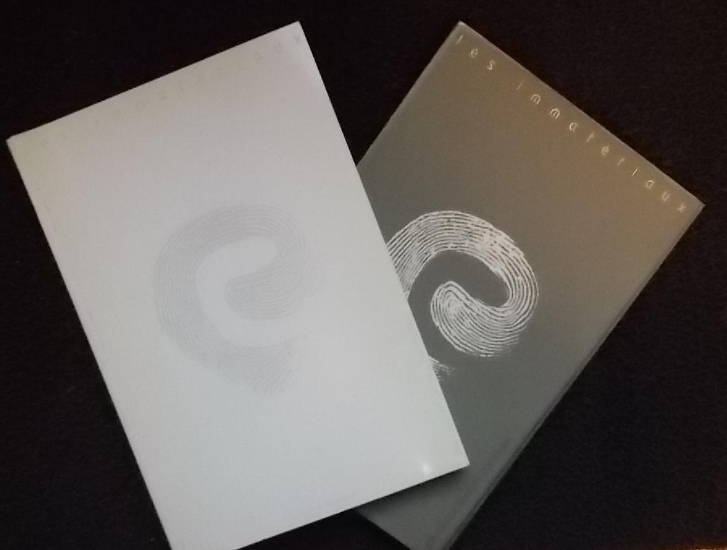 Les immatériaux. Epreuves d'écriture + Album et inventaire.: LYOTARD (Jean-François) et al.