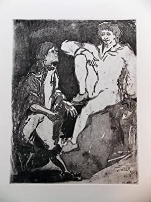 Les fourberies de Scapin.: STAMPFLI (Pierre)] - MOLIERE