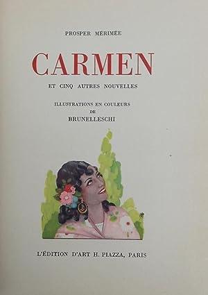 Carmen. La Vénus d'Ille - Mateo Falcone - L'enlèvement de la redoute - Le ...