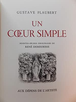 Un coeur simple.: FLAUBERT (Gustave)