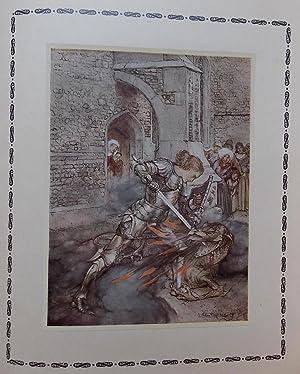 La légende du Roi Arthur et des chevaliers de la Table Ronde.: RACKHAM (Arthur) - ARNOUX (...