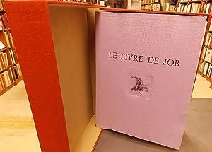 Le Livre de Job.: DAUTRY (Marc) ill.]