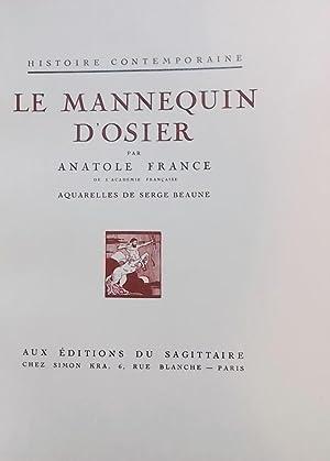 Le mannequin d'osier.: FRANCE (Anatole)