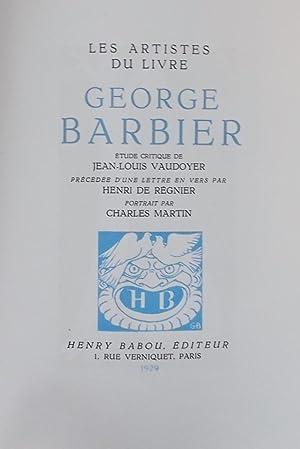 George Barbier.: BARBIER] - VAUDOYER (Jean-Louis)