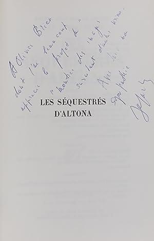 Les séquestrés d'Altona.: SARTRE (Jean-Paul)