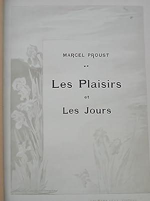Les plaisirs et les jours.: PROUST (Marcel)