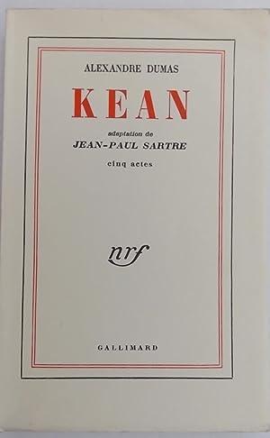 Kean.: SARTRE] - DUMAS