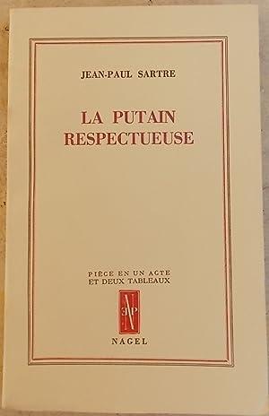 La putain respectueuse.: SARTRE (Jean-Paul)