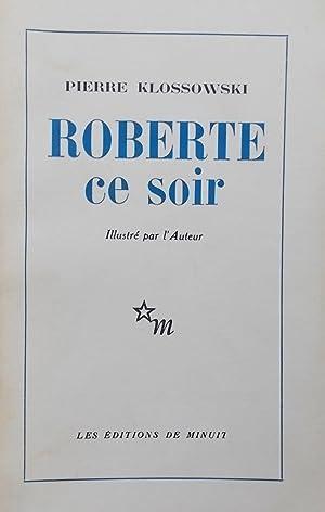 Roberte ce soir.: KLOSSOWSKI (Pierre)