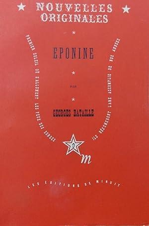Eponine.: BATAILLE (Georges)