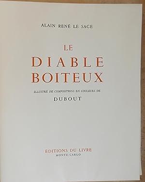 Le diable boiteux.: DUBOUT] - LE SAGE (Alain René)