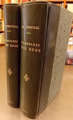 Promenades dans Rome. Nouvelle édition, entièrement revue et augmentée de ...