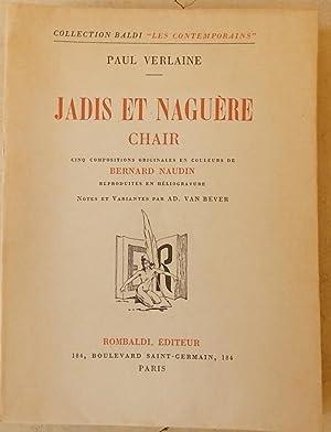 Jadis et Naguère. [suivi de] Chair.: VERLAINE (Paul)