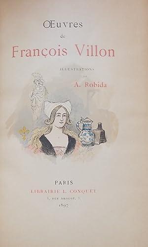 Oeuvres de François Villon.: ROBIDA] - VILLON (Fran�ois)