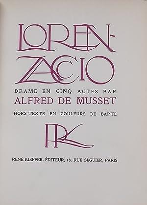 Lorenzaccio.: MUSSET (Alfred de)