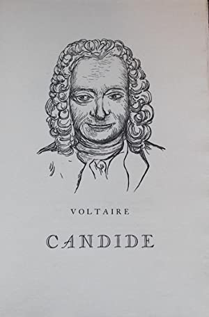Candide.: VOLTAIRE (Fran�ois Marie Arouet)