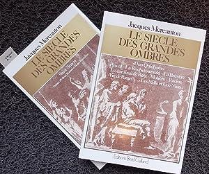 Le siècle des grandes ombres I & II.: MERCANTON (Jacques)