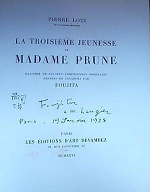 La troisième jeunesse de Madame Prune.: FOUJITA] - LOTI (Pierre)